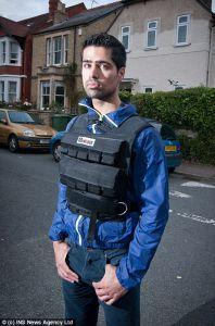 Британская полиция перепутала спортивный жилет с поясом смертника.